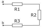 Последовательное соединение электроприборов в электрической цепи