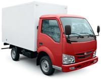 BAW Fenix вывоз упакованного строительного мусора тент и бортовой
