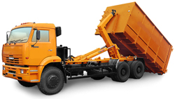 КАМАЗ пухто контейнер до 27 м.куб. или до 10 тонн