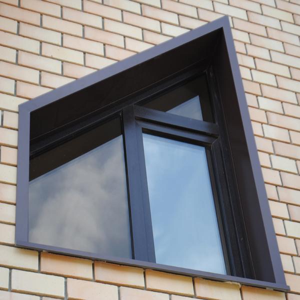 Металлические откосы на окна купить и монтаж с доставкой под ключ в Санкт-Петербурге