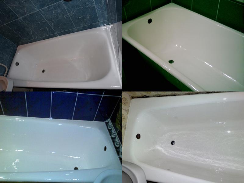 Ванны отреставрированные стакрилом или как его ещё называют методом налива жидкого акрила (в народе)