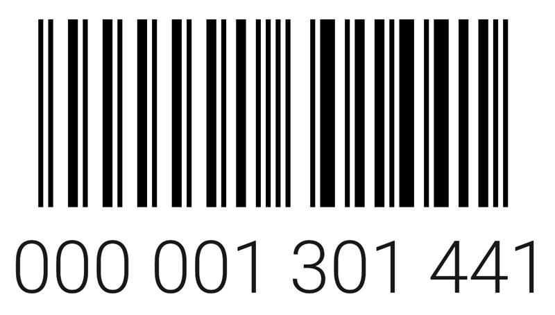 Штрих код карты Материк
