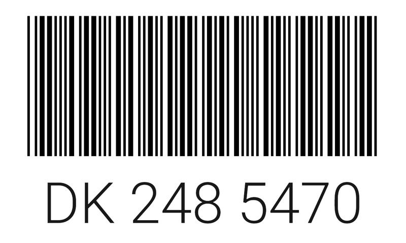 Штрих код карты Максидом