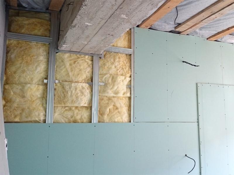 Шумоизоляция и теплоизоляция стен
