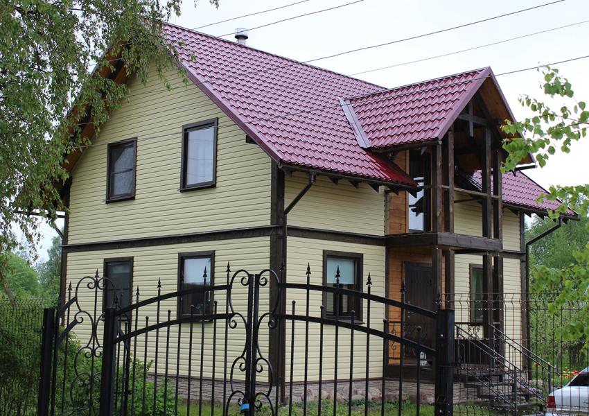 Каркасный дом от компании Ремонтных Дел Мастер