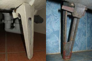 Ножка для старой чугунной ванны